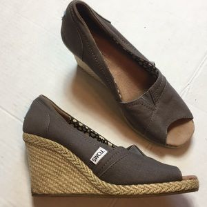Toms | Women's espadrilles wedge shoes size 7